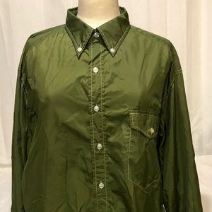 Vintage 1960's Olive Green WHITE STAG Men's Shirt